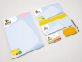 create a sterall and unique businesscard