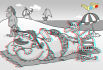 transfer your 2D drawings into 3D stereographic anaglyph