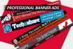 design a banner ad