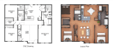 turn your drawings or cad plan into a nice rendered layout plan