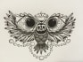 create an awesome custom hand drawn tattoo just for you