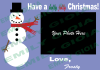 create Christmas or Holiday e cards of any style or size