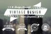 design 2 conceptional vintage logo