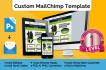 design and build responsive Mailchimp