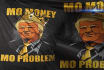 create Donald Trump as Notorious t shirt design