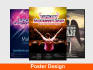 design an Attention Grabbing Poster Design For Your Event, Movie etc