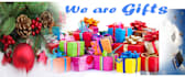 create Christmas gifts banners,Headers