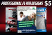 do Event FLYER or Business Flyer
