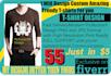 design trendy T shirt  in 8 hours