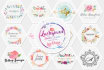 do feminine signature logo design