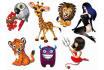 create a cartoon character or a mascot