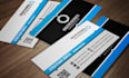 do colorful stunning business cards for you in 1 day