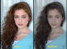 do perfect retouching and background cutting