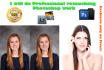 do Professional retouching Photoshop work