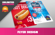 design you a poster, leaflet or flyer