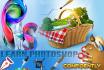 teach you photoshop, illustrator, indesign, html, css