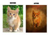 make your photo into beautiful oil painting