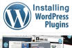 install Wordpress, Theme   plugins Everything
