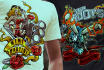 do high end Illustration for Tshirt