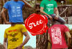 make Trendy and Awesome Tshirts Designs in 12hrs
