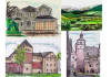 draw, paint a watercolour of house, pet, car, landscape and more