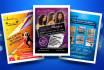 design business card, FLYER, post card, poster, header, facebook, cover, 300DPI