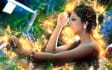 create Fire effect on yours photo