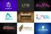 create professional and outstanding vector logo