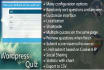 add quiz or survey section on your wordpress site
