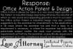 draft Response to Office Action Patent and Industrial Design