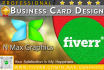 design Professional two side Business Card
