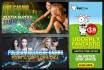 design killer and PROFESSIONAL web banner,header