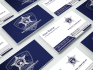 design double sided business card for five