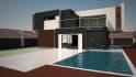 render your building exterior