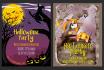 make Halloween theme illustration