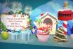 create Christmas Greeting Video Card