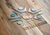 replicate your LOGO or signature on wood with steel blade