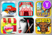 make stunning app icon for mobile games and apps