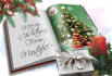 make a Christmas Book with Your Wishes and a Photo