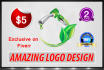 do 2D 3D LOGO within 24 hours