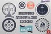 design a Retro Vintage LOGO, Stamp Badge