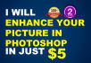 enhance and Edit your photos in very Effective way