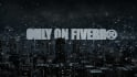 create a 3D night city intro