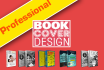 design nice ebook cover, kindle cover or 3d cover