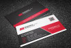design clean and professional business cards