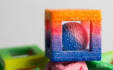 print an edible 3D sugar or chocolate design using a chef jet