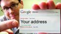 design your business card in Google search style