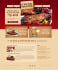 design a template for your food house or restaurant