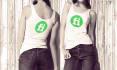 put your high resolution LOGO on women tshirt