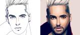 draw your cartoon portrait in 24 hours